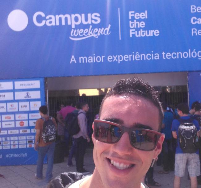 Participação na Campus Party Recife 2016